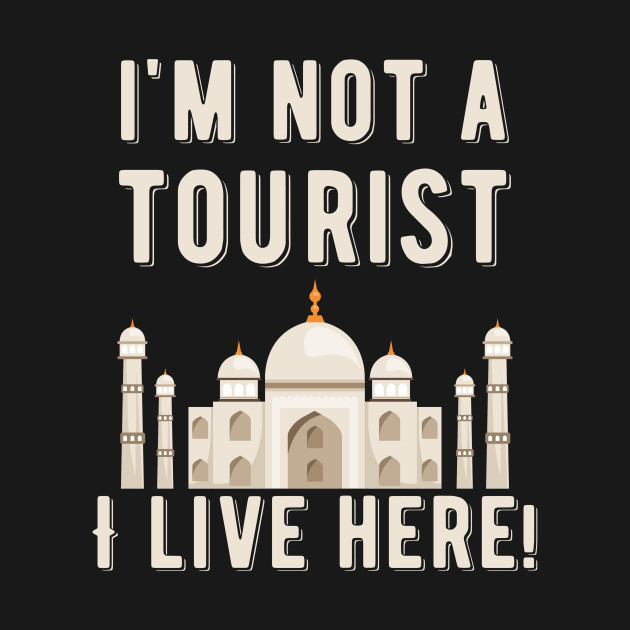 Tourism Travel Funny Graphic Voyage Temple