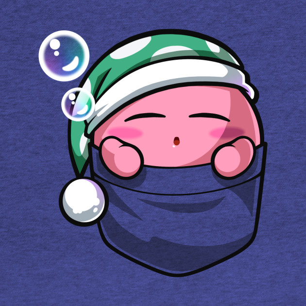 Sleeping Pocket Kirby