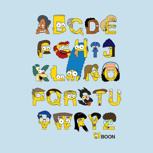 Simpsons Alphabet