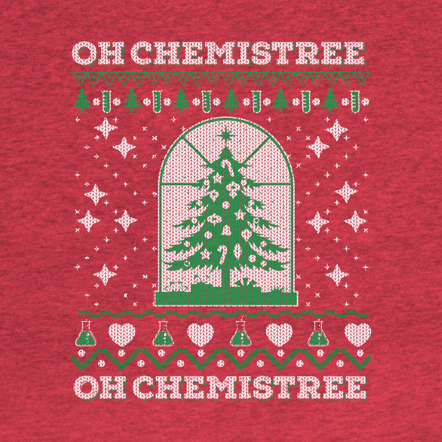 Chemistry Oh Chemistree Ugly Christmas Sweater