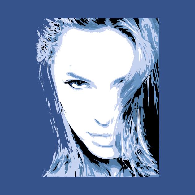 Angelina Jolie - Vector Art