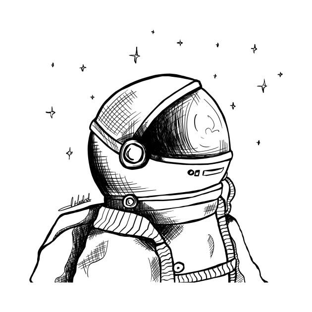 Astronaut - Space - T-Shirt   TeePublic