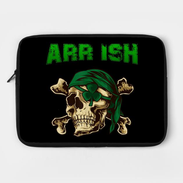 Arrrish Funny Irish Pirate St Patrick Day