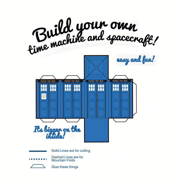 Build your own time machine and spacecraft