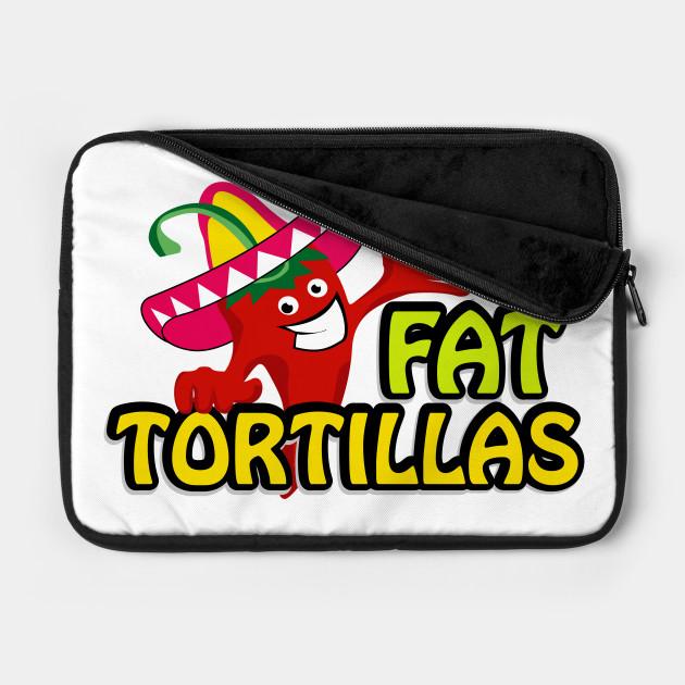 Funny Cartoon Fat Tortillas