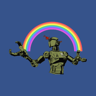 Follow the rainbow of destruction t-shirts