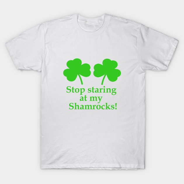 St Patricks Day Bikini Shirt Shamrock Clover Funny Gift Idea