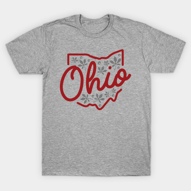 Cute ohio state buckeye design ohio t shirt teepublic for Ohio state t shirts for kids