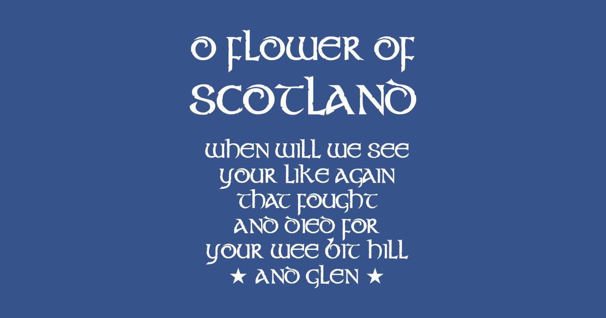 scotland national anthem  u2014 flower of scotland