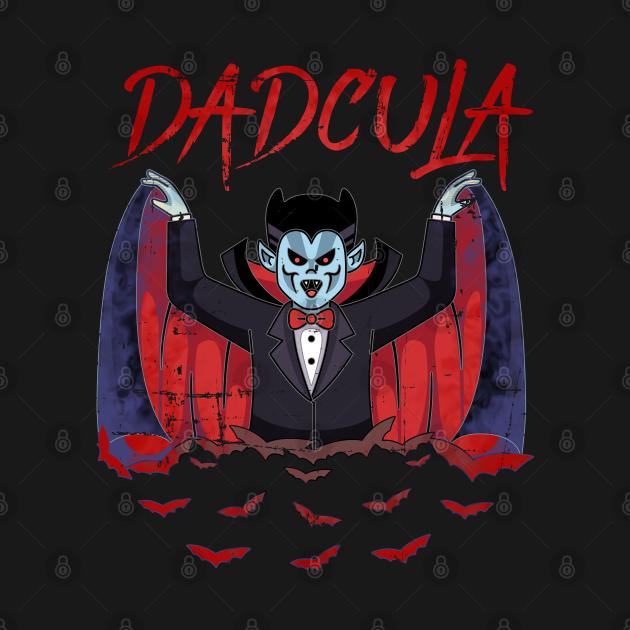 Dadcula Dracula Halloween Dad Vampire Funny Costume