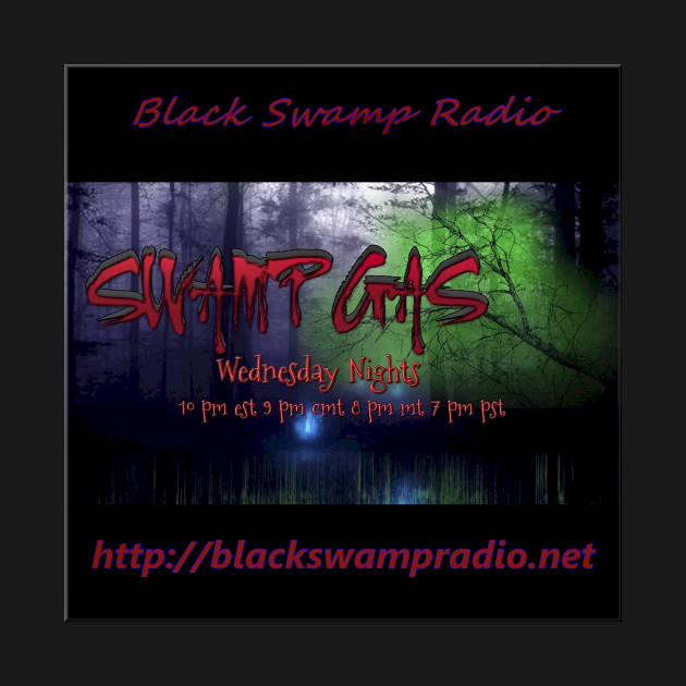 Black Swamp Radio's Swamp Gas Logo