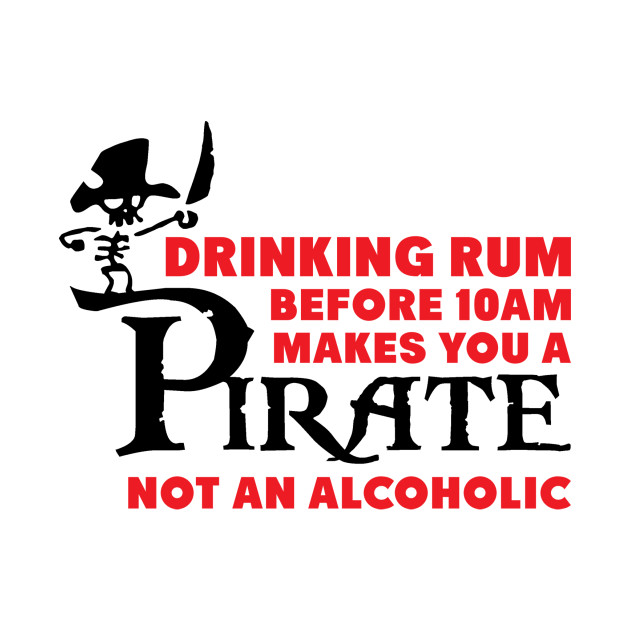 Drinking rum before 10 a.m.