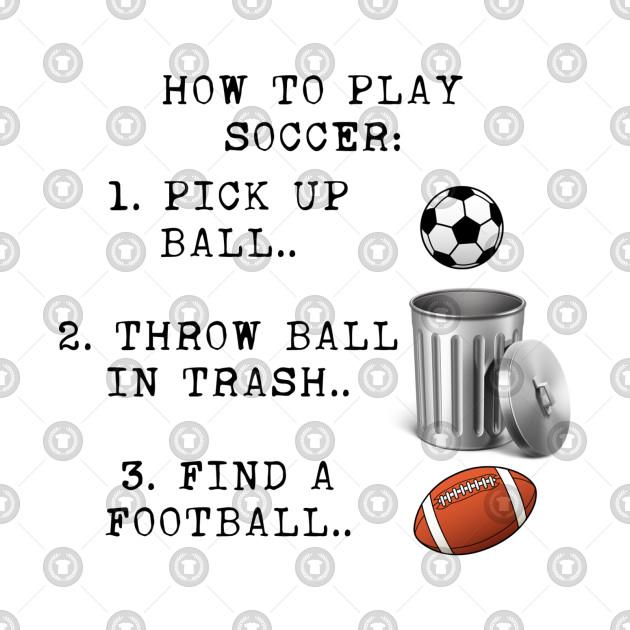 Soccer instructions