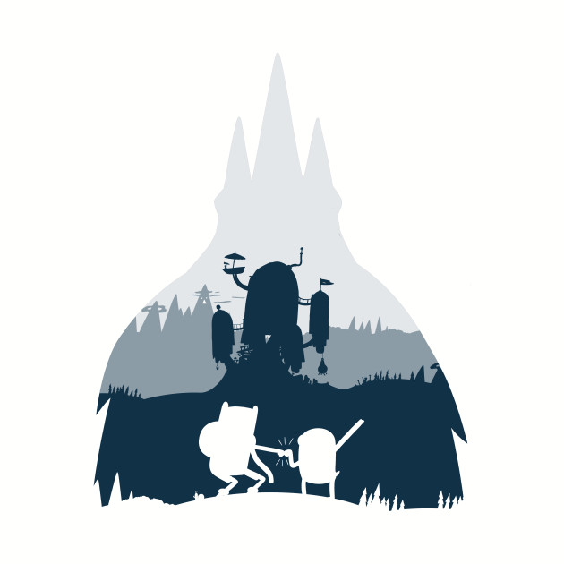Ice King Silhouette