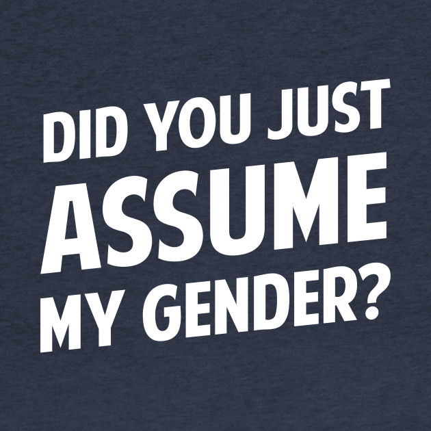 Did You Just Assume My Gender?