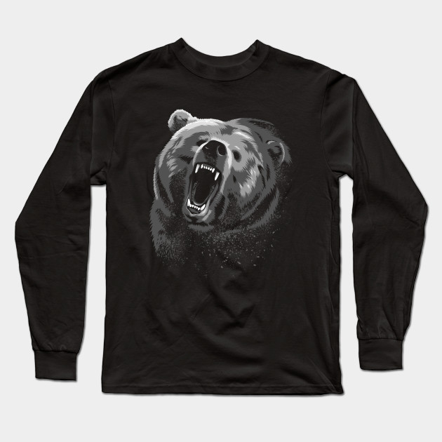 Angry Bear Long Sleeve T-Shirt 340b91cd5