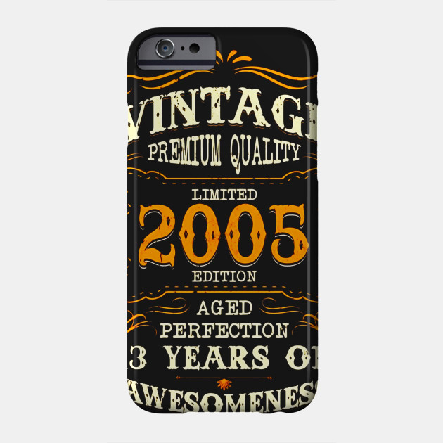 Legends Vintage Made In 2005 13th Birthday Gift 13 Years Old