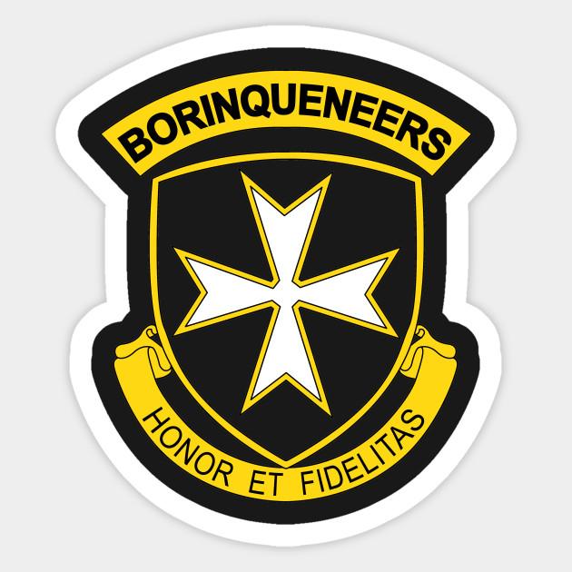 65th Infantry Regiment Sticker