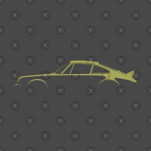 Beliebt Bevorzugt Porsche 911 Silhouette - Porsche 911 Silhouette - T-Shirt | TeePublic @HI_65