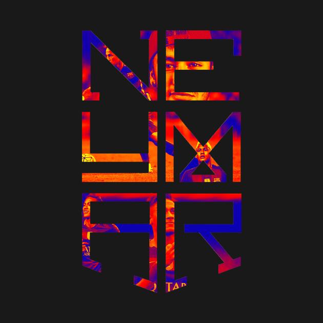 d22702e639b Neymar Jr Logo - Neymar Jr Logo Barcelona Fc - T-Shirt | TeePublic