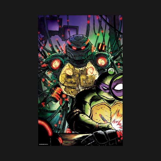 Donatello and Metalhead