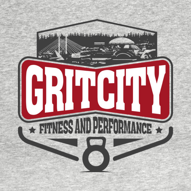 Grit City Fitness and Performance Logo Tee