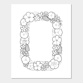 Letter O Wall Art Endearing Letter O Posters And Arts  Teepublic Review