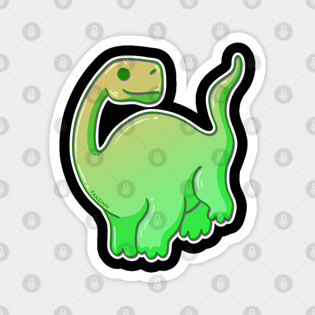 Dinosaur Cartoon Brachiosaurus