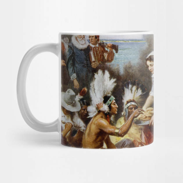 The First Thanksgiving Mug