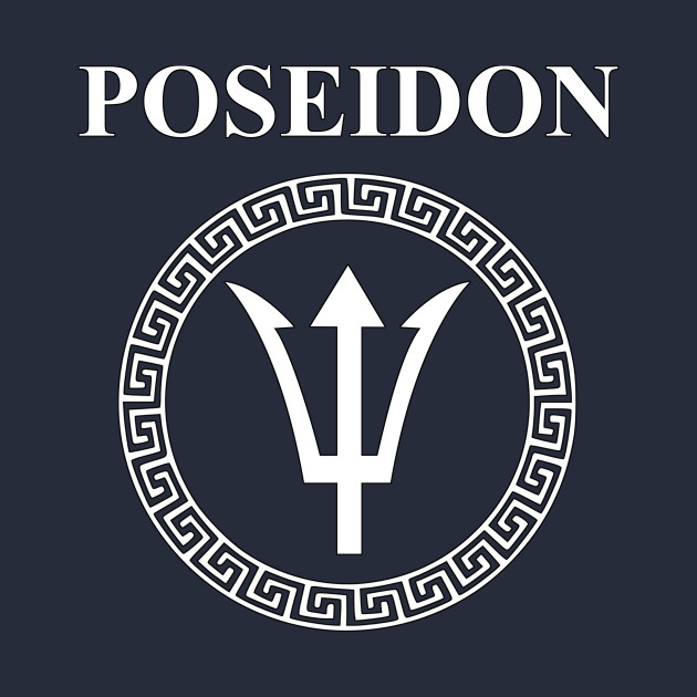 Poseidon Ancient Greek God Poseidon Crewneck Sweatshirt Teepublic