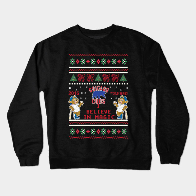 Ugly Christmas T Shirt 2016 World Series Chicago Cubs X Mass