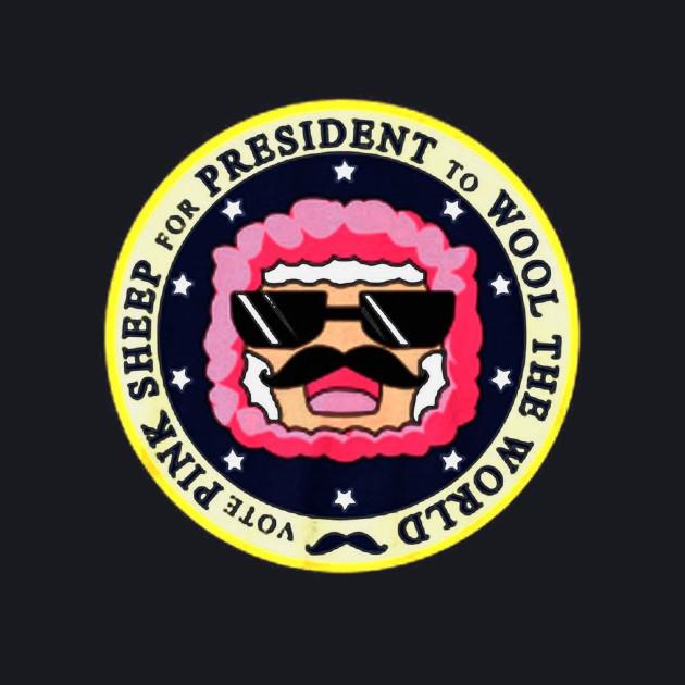 Presidential Pink Sheep tshirts