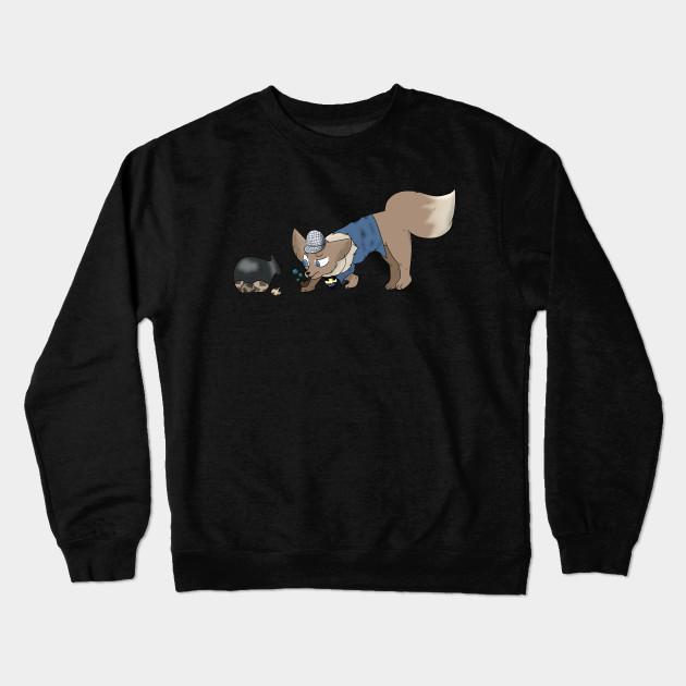 874340da detective eevee! - Eevee - Crewneck Sweatshirt | TeePublic