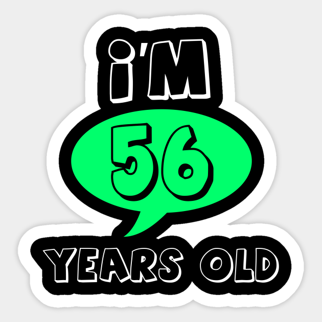 Aged 56 old years