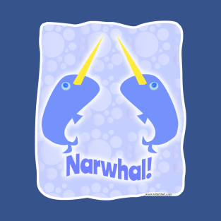 Double Fun Narwhals t-shirts