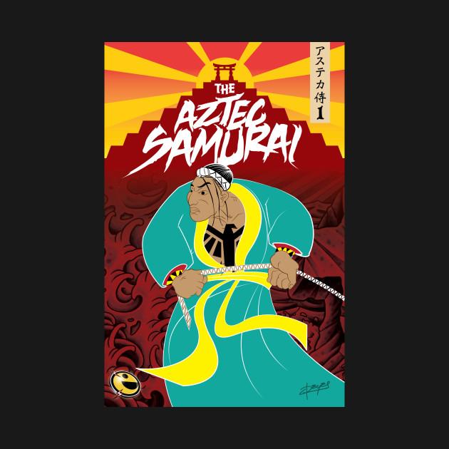 The Aztec Samurai Official Shirt