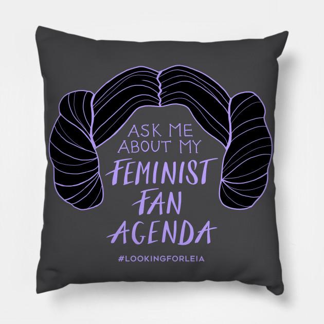 Ask Me About My Feminist Fan Agenda (Princess)