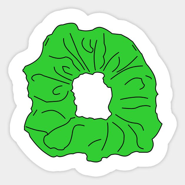 Scrunchie Stickers