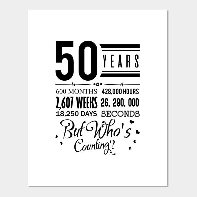 50th Wedding Anniversary Sweet Wedding Gift Wedding Anniversary Affiche Et Impression D Art Teepublic Fr