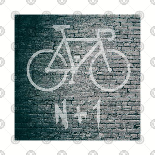 N + 1 Bike Graffiti