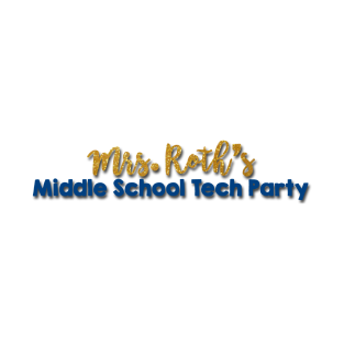 Middle School Tech Party t-shirts