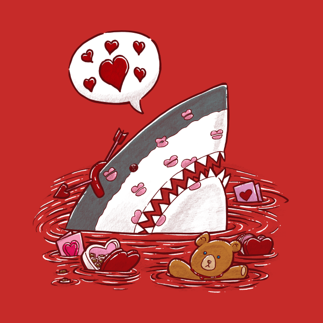 The Valentines Day Shark