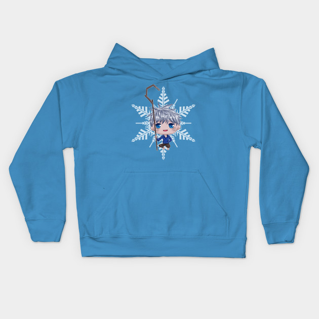 87beee5b03b6 Chibi Jack Frost - Dreamworks - Kids Hoodie | TeePublic