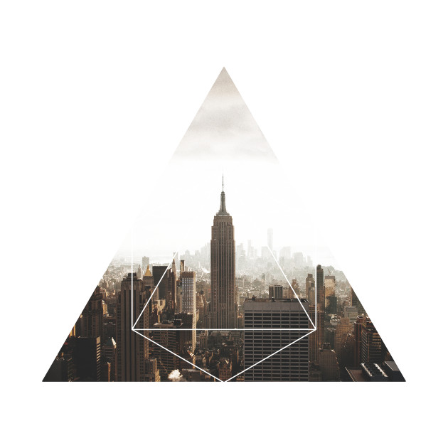 Empire State Building Geometric Photography