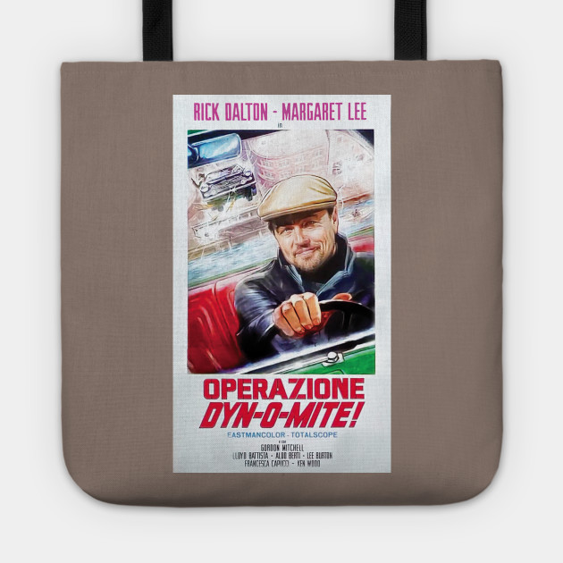 ONCE UPON A TIME IN HOLLYWOOD RICK DALTON OPERAZIONE DYN-O-MITE Poster 24x36inch
