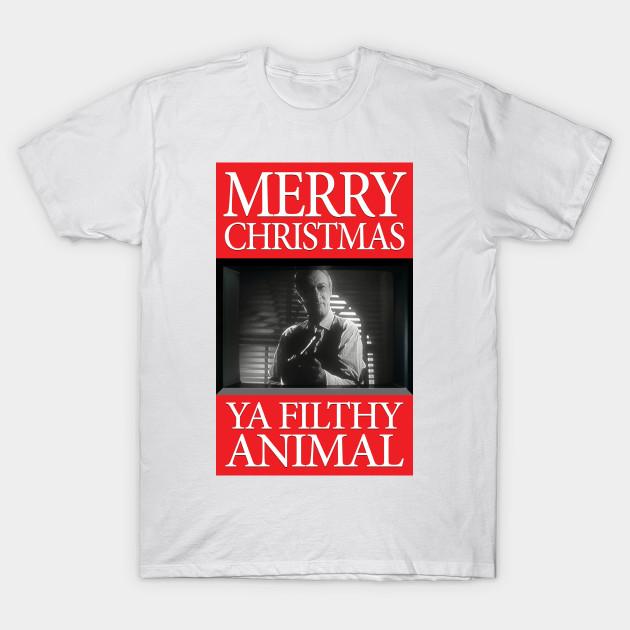 Merry Christmas Ya Filthy Animal Shirt.Home Alone Merry Christmas Ya Filthy Animal