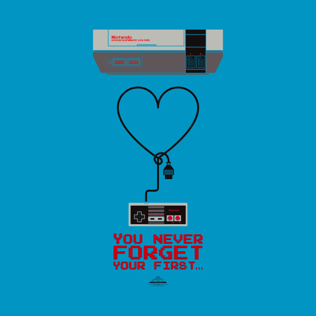 Love Nintendo, You never forget your first.