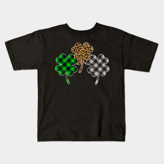 Buffalo Plaid Shamrock St Patricks Day Shamrock