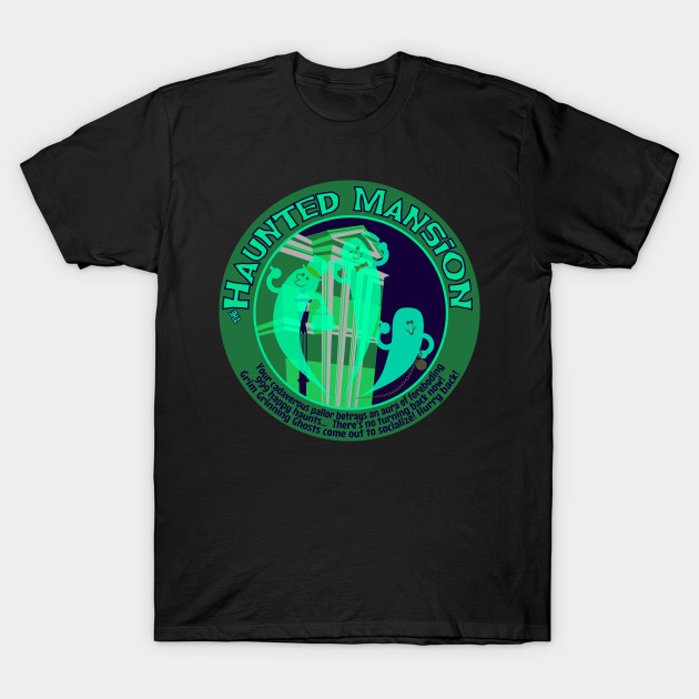 Haunted Mansion (spooky green)