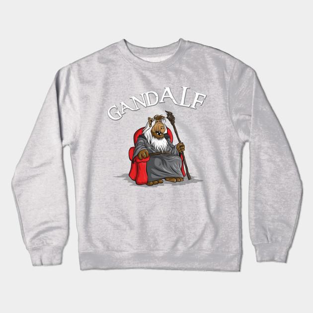 bad5be88562 Gand-Alf - Lord Of The Rings - Crewneck Sweatshirt